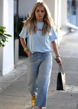 Rita Ora at Meche Salon in Los Angeles