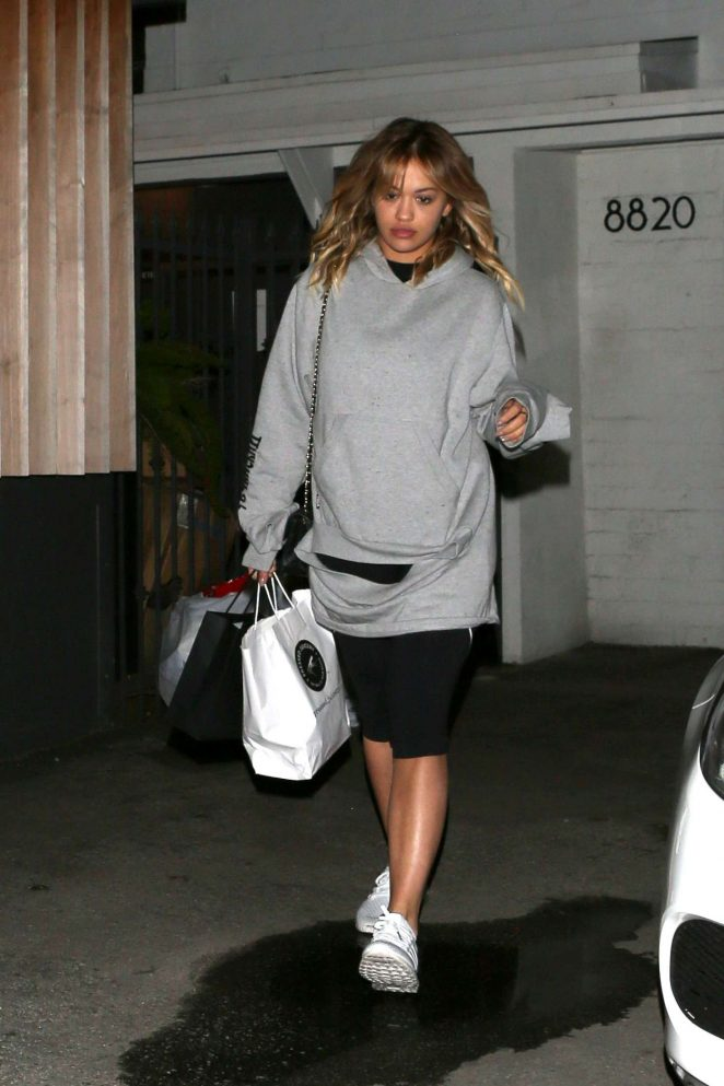 Rita Ora at Meche Salon in West Hollywood
