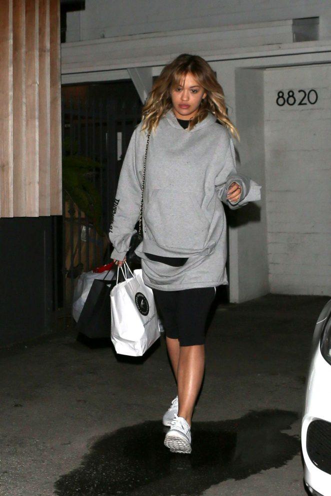 Rita Ora at Meche Salon in West Hollywood