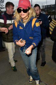 Rita Ora at Sport Relief in Media City in Salford