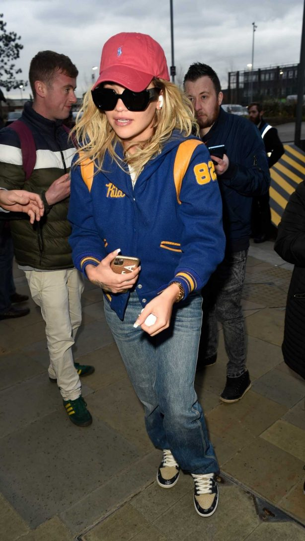 Rita Ora at Sport Relief in Media City in Salford