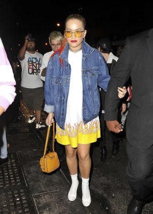 Rita Ora at Up&Down nightclub in NYC