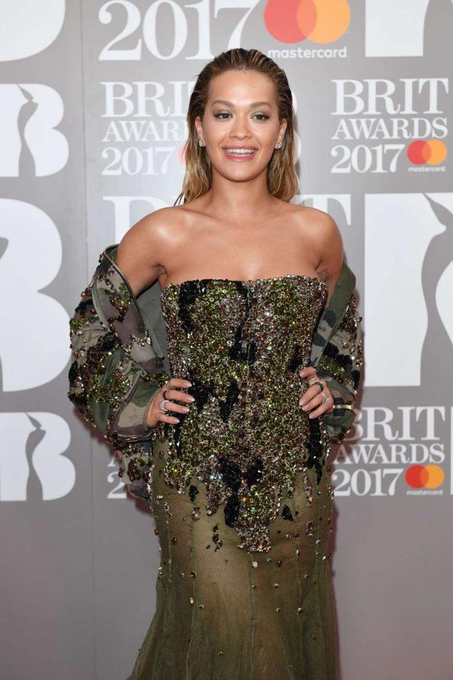 Rita Ora - BRIT Awards 2017 in London