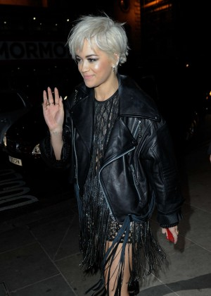 Rita Ora - BRIT Awards After Party 2015 in London