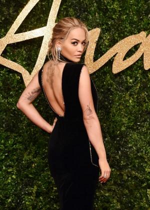 Rita Ora - British Fashion Awards 2015 in London