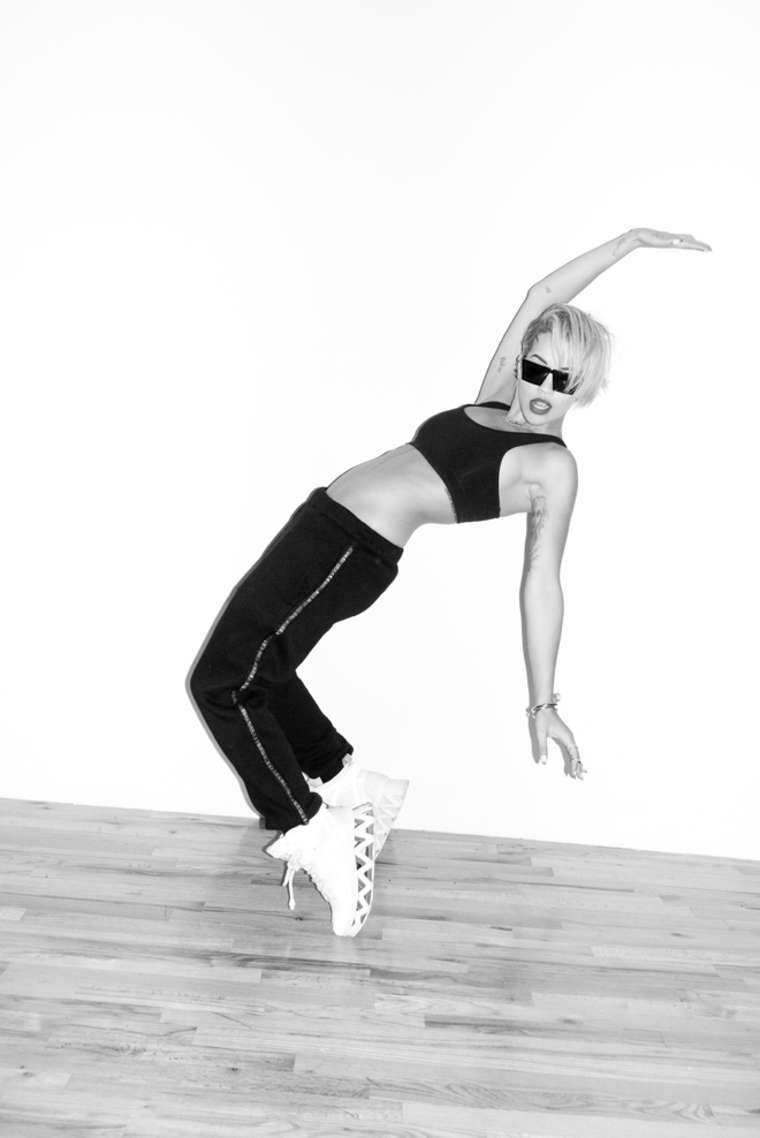 Rita Ora by Terry Richardson Photoshoot 2014