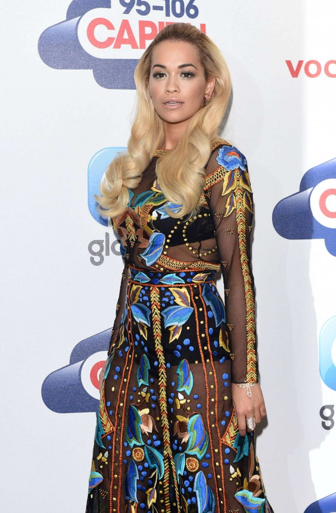 Rita Ora - Capital FM Summertime Ball in London