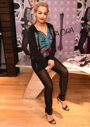 Rita Ora - Celebrating her Adidas Collection in London