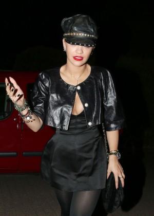 Rita Ora - Chiltern Firehouse in London