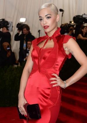 Rita Ora - 2015 Costume Institute Gala in NYC