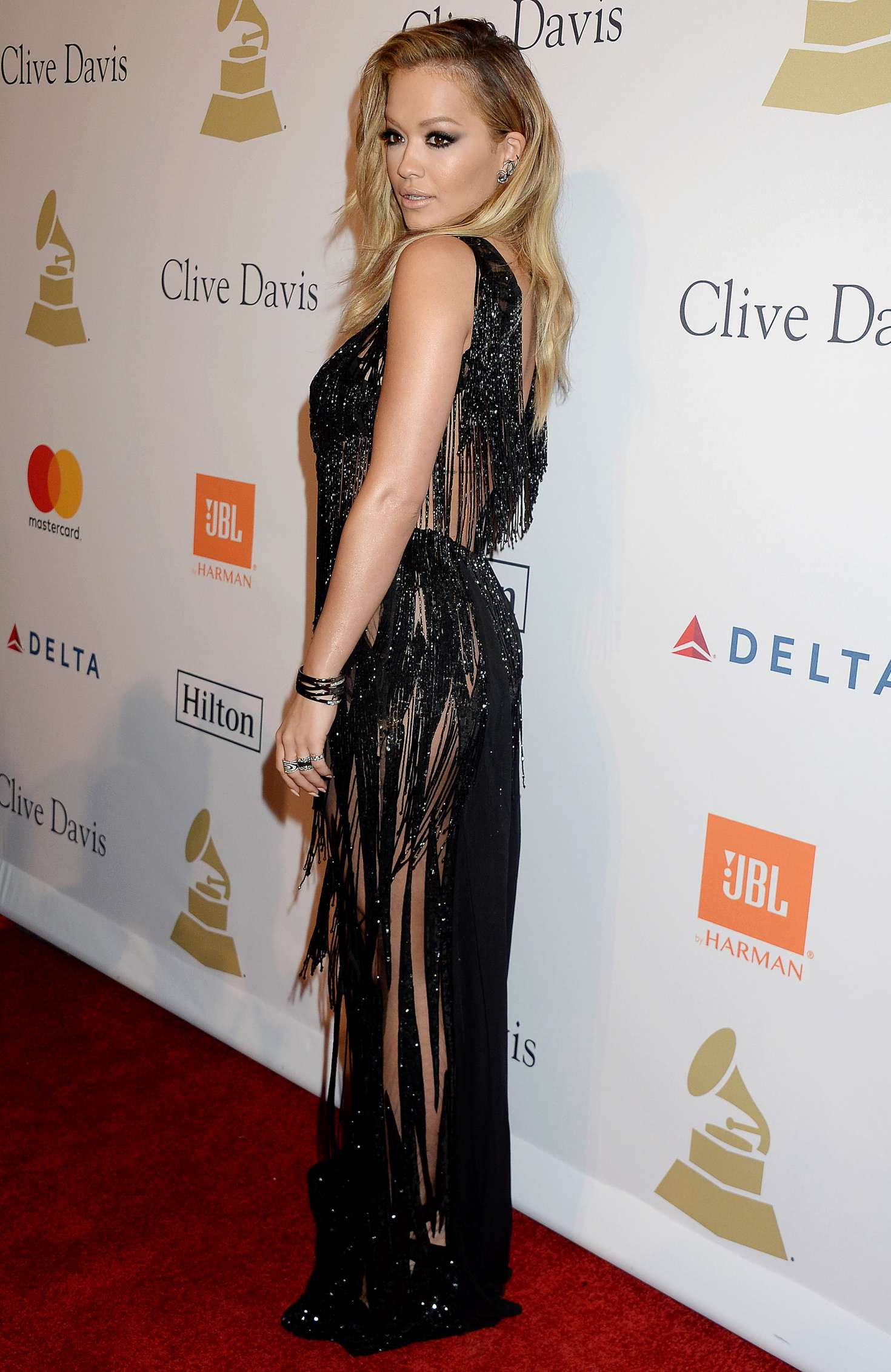 Rita Ora 2017 : Rita Ora: Clive Davis Pre-Grammy Party 2017 -01