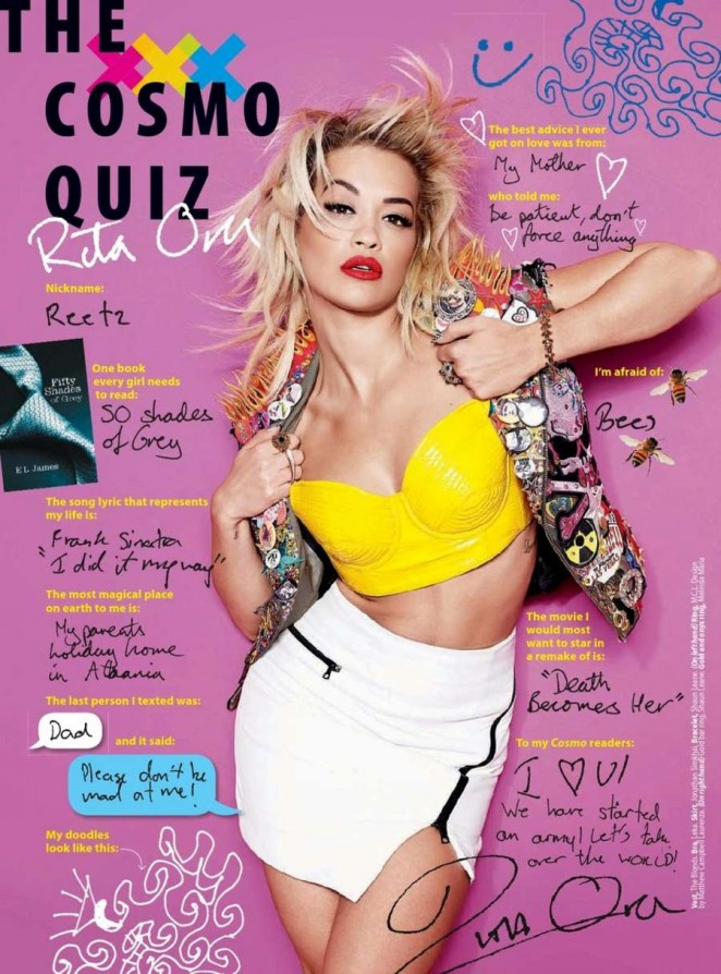 Rita Ora – Cosmopolitan Middle East (February 2015)