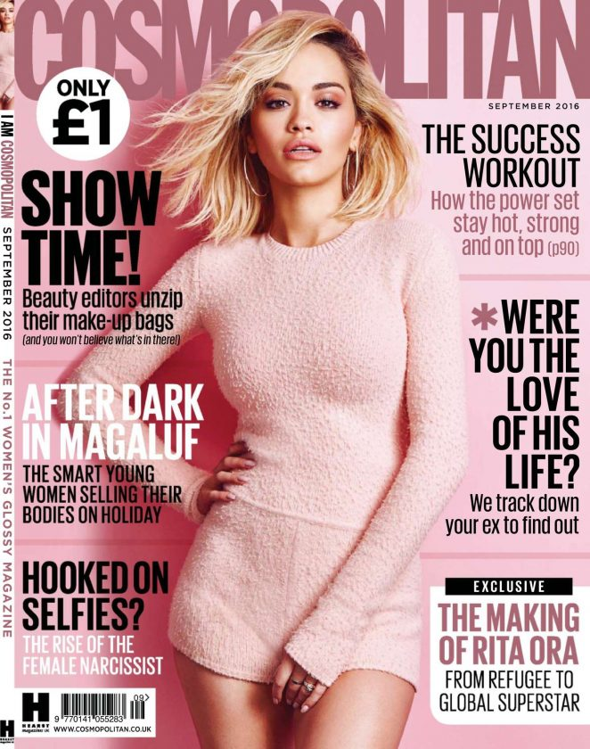 Rita Ora - Cosmopolitan UK Magazine (September 2016)
