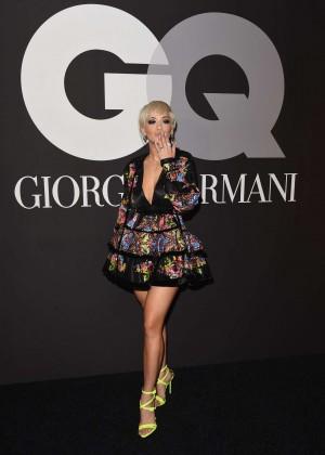 Rita Ora: GQ and Giorgio Armani Grammys After Party -01