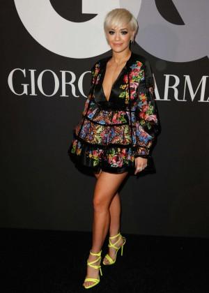 Rita Ora: GQ and Giorgio Armani Grammys After Party -02