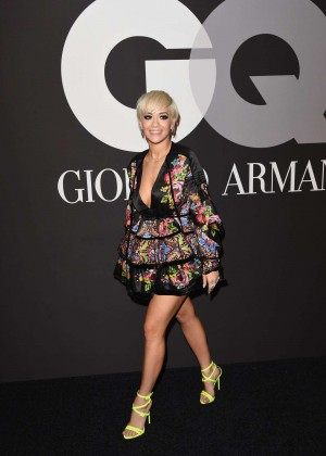 Rita Ora: GQ and Giorgio Armani Grammys After Party -05