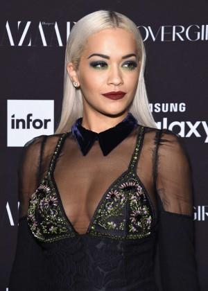 Rita Ora - Harpers Bazaar ICONS Event in NY