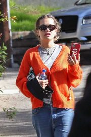 Rita Ora - Heading to a medical building in Beverly hills