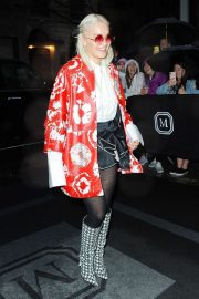 Rita Ora - Heads to her hotel in New York