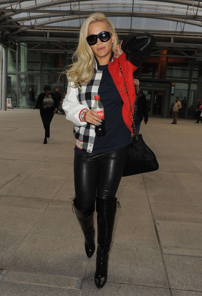 Rita Ora – Heathrow airport in London