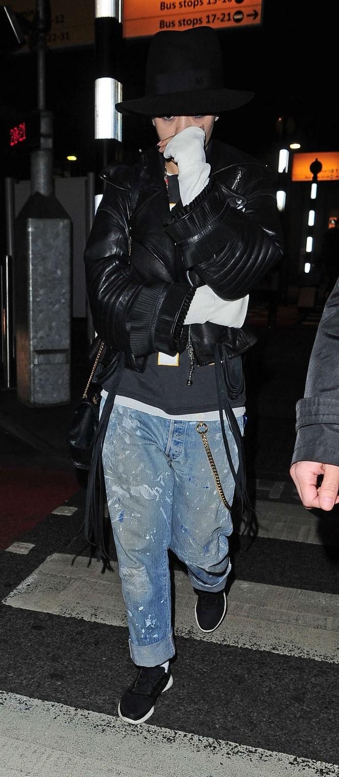 Rita Ora: Heathrow airport -08