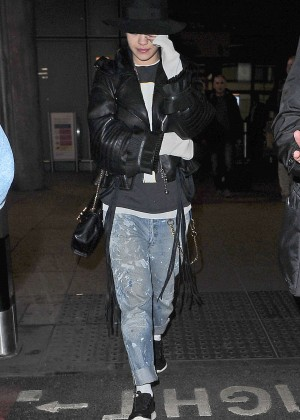 Rita Ora - Heathrow airport in London