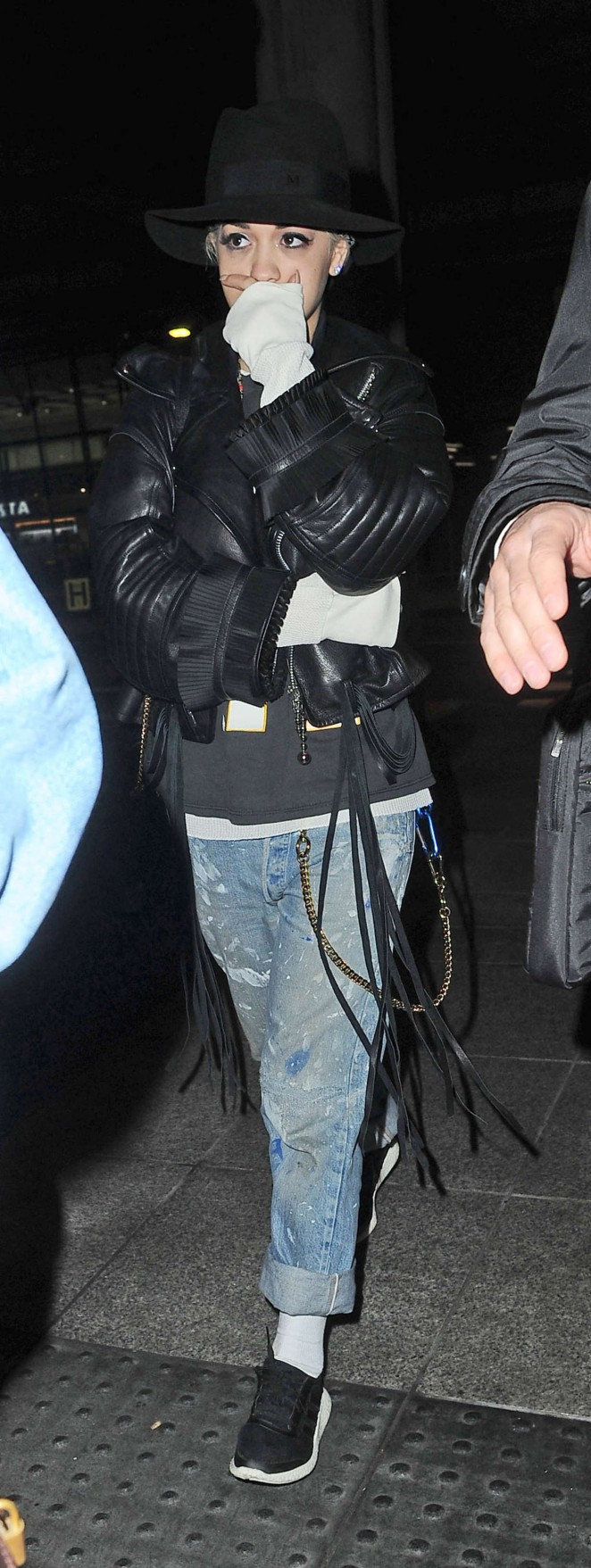 Rita Ora: Heathrow airport -15