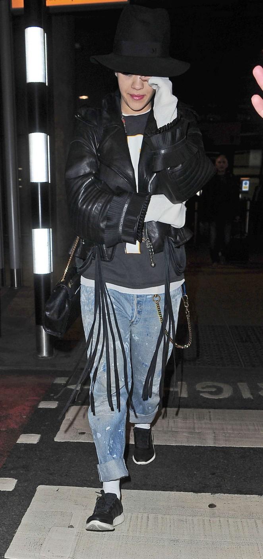 Rita Ora: Heathrow airport -17