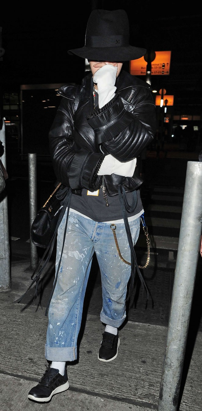Rita Ora: Heathrow airport -19