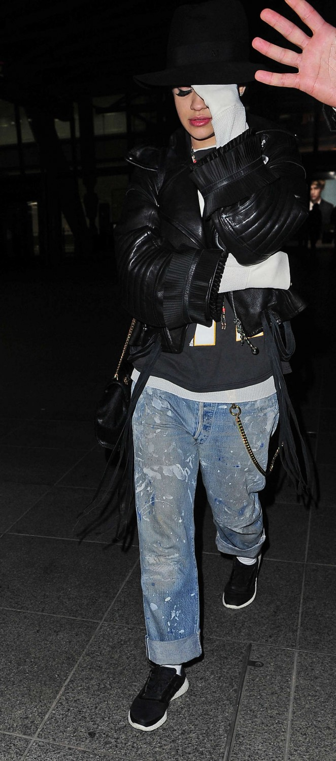 Rita Ora: Heathrow airport -22