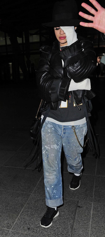 Rita Ora: Heathrow airport -22