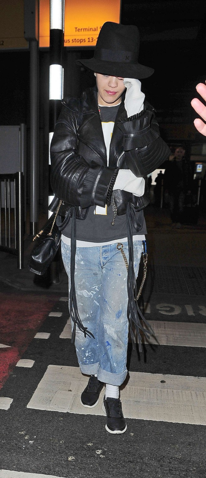 Rita Ora: Heathrow airport -23