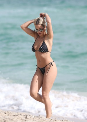 Rita Ora Hot Bikini Photos -07