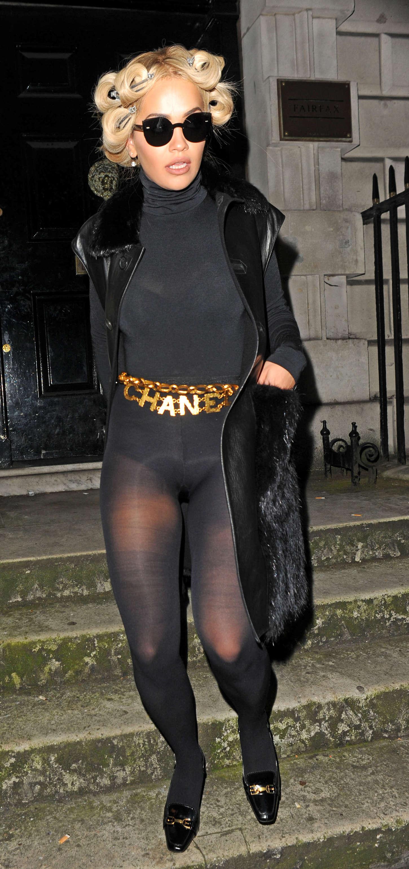 c3de70b27d6 Rita Ora In a body stocking -15 – GotCeleb