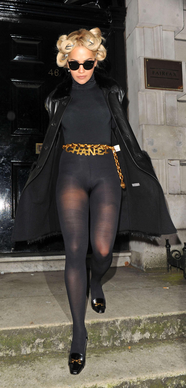 66bf3c7182c Rita Ora In a body stocking -19 – GotCeleb