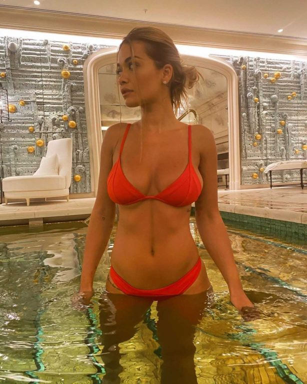 Rita Ora in Bikini - Personal pics