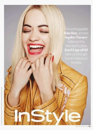 Rita Ora - InStyle UK Magazine (April 2015)
