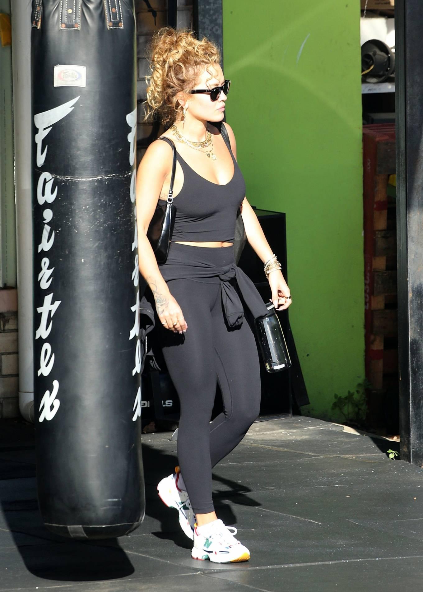 Rita Ora 2021 : Rita Ora – Is seen leaving the gym in Sydney-03
