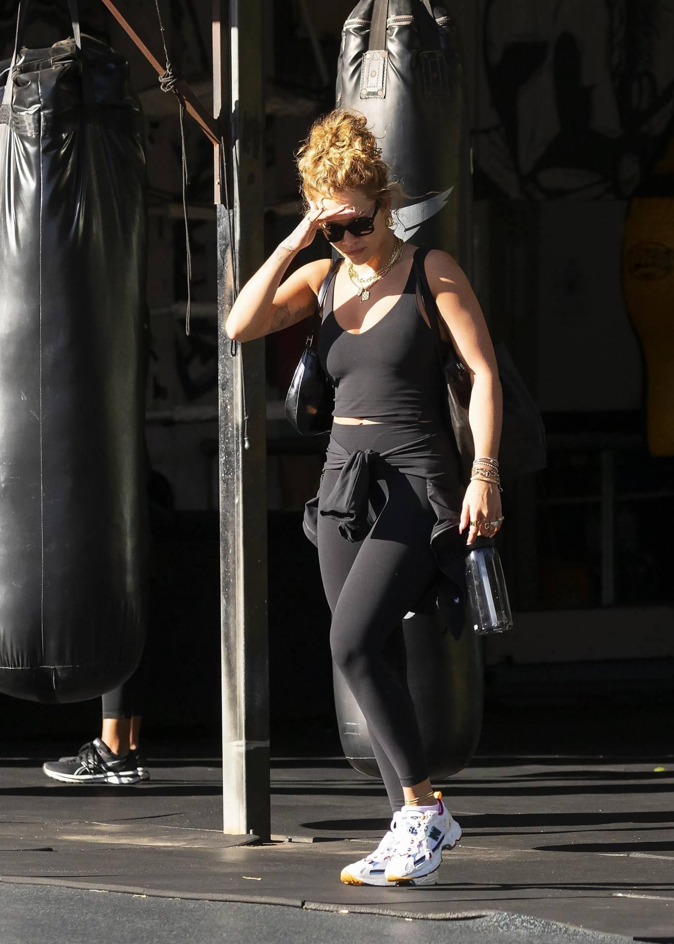 Rita Ora 2021 : Rita Ora – Is seen leaving the gym in Sydney-09