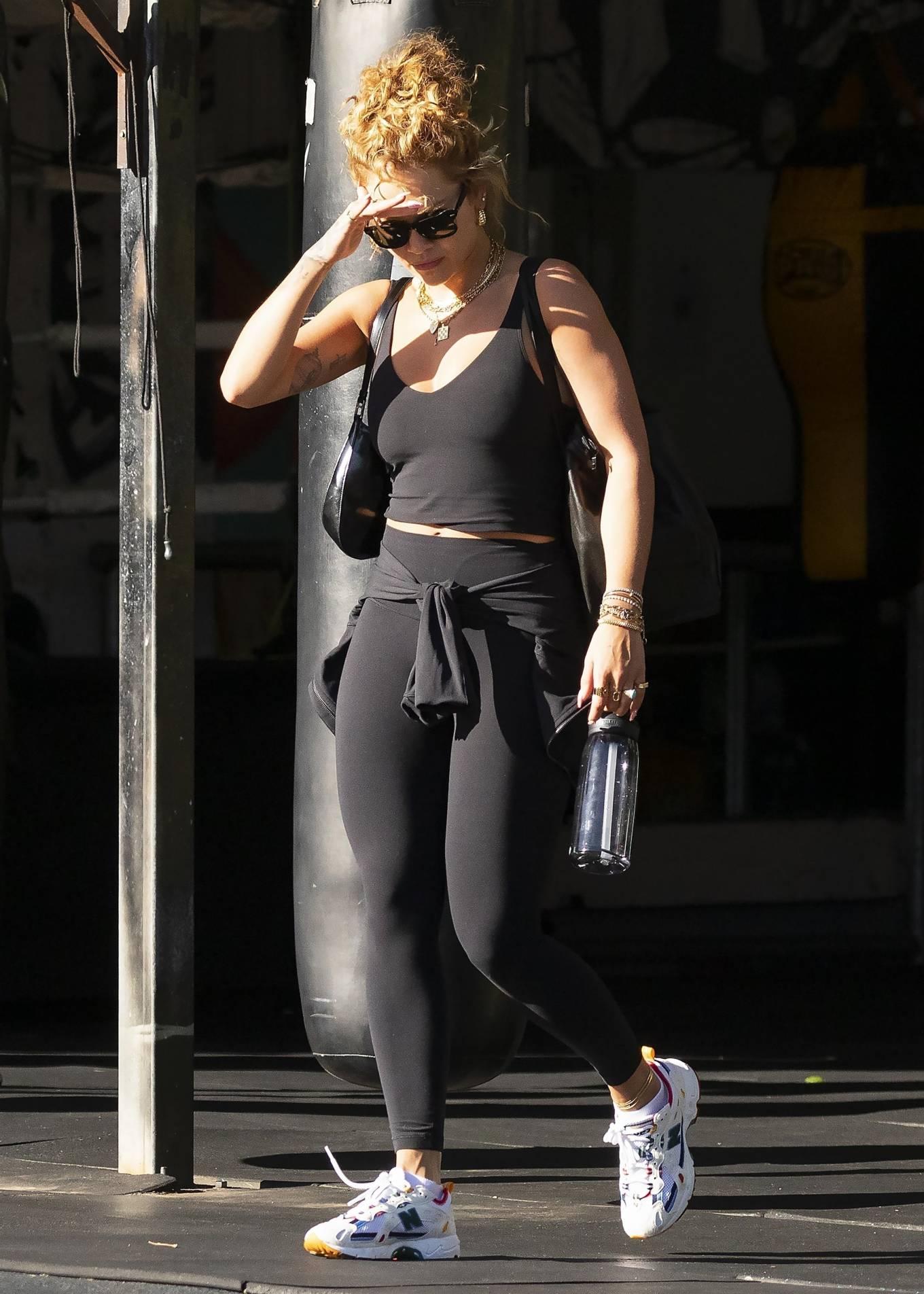 Rita Ora 2021 : Rita Ora – Is seen leaving the gym in Sydney-11