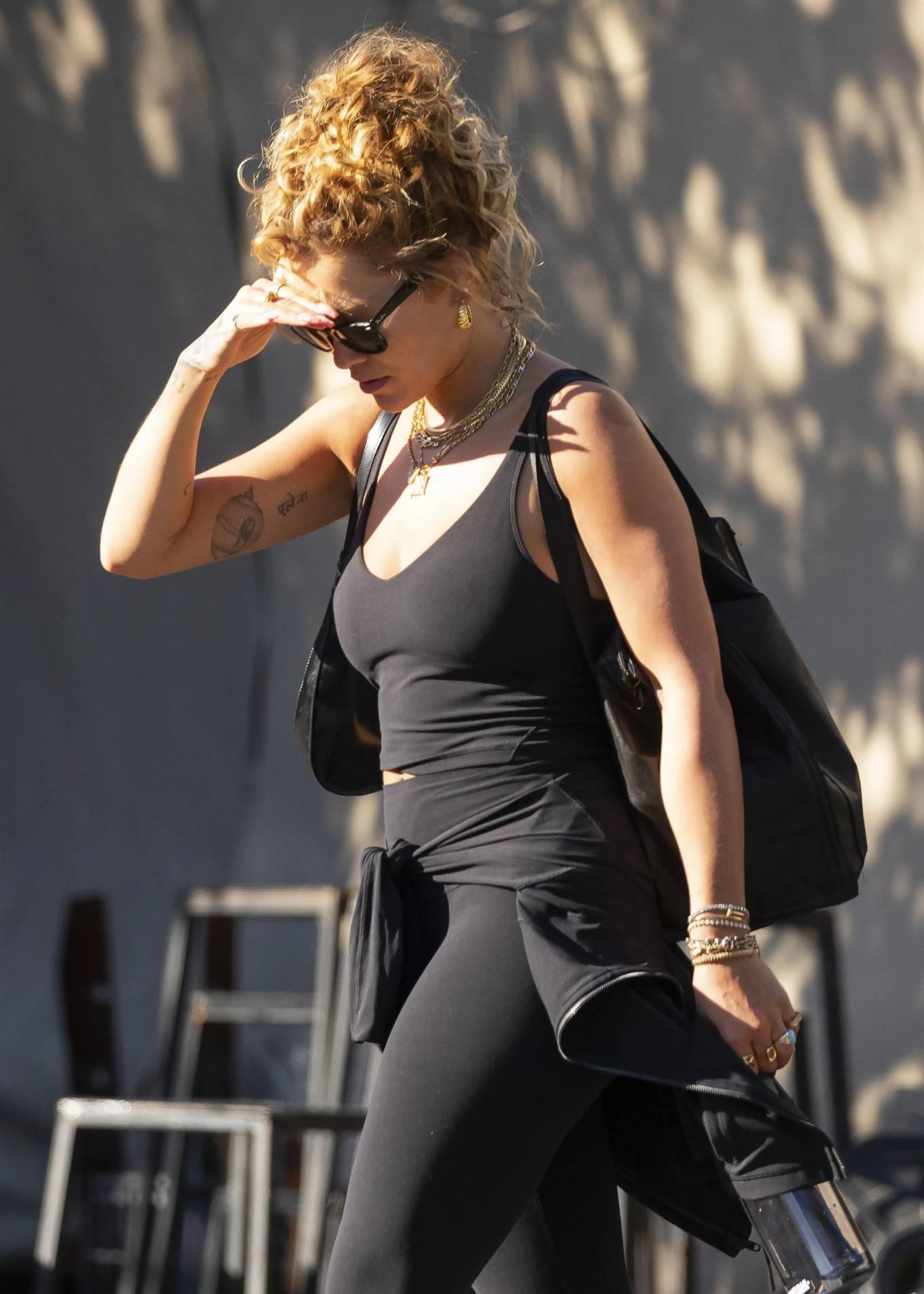 Rita Ora 2021 : Rita Ora – Is seen leaving the gym in Sydney-19