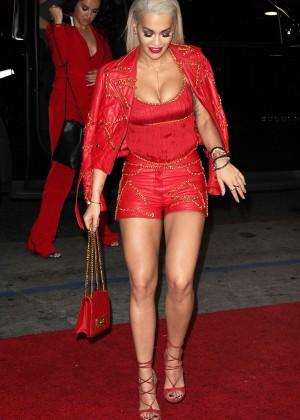 Rita Ora - 'Jeremy Scott: The People's Designer' Premiere in Hollywood