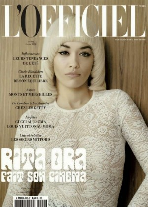 Rita Ora - L'Officiel Paris Cover Magazine (February 2015)