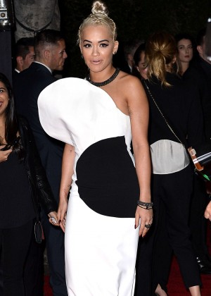 Rita Ora - Leaves a Grammy Party in Los Angeles