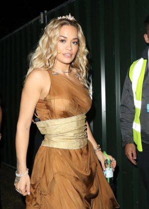 Rita Ora - Leaves 'Britain's Got Talent' in London