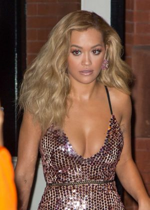 Rita Ora Leaves Mercer hotel in SoHo