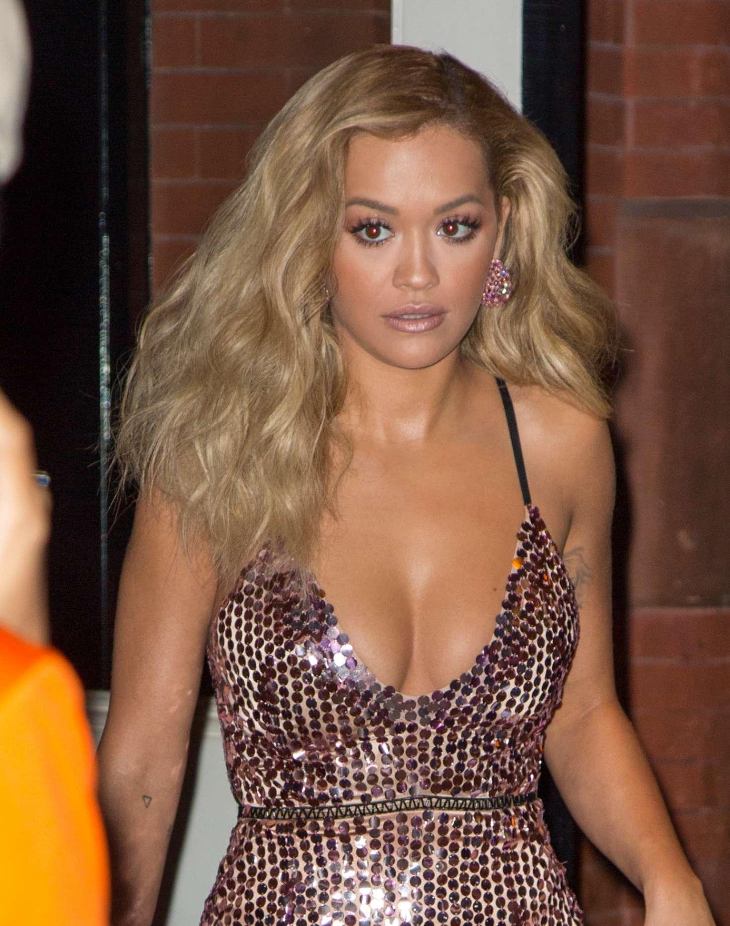 Rita Ora Leaves Mercer hotel in SoHo