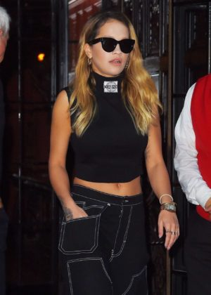Rita Ora - Leaves the Bowery Hotel in New York City