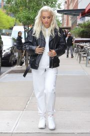Rita Ora - Leaves the Greenwich Hotel in NYC