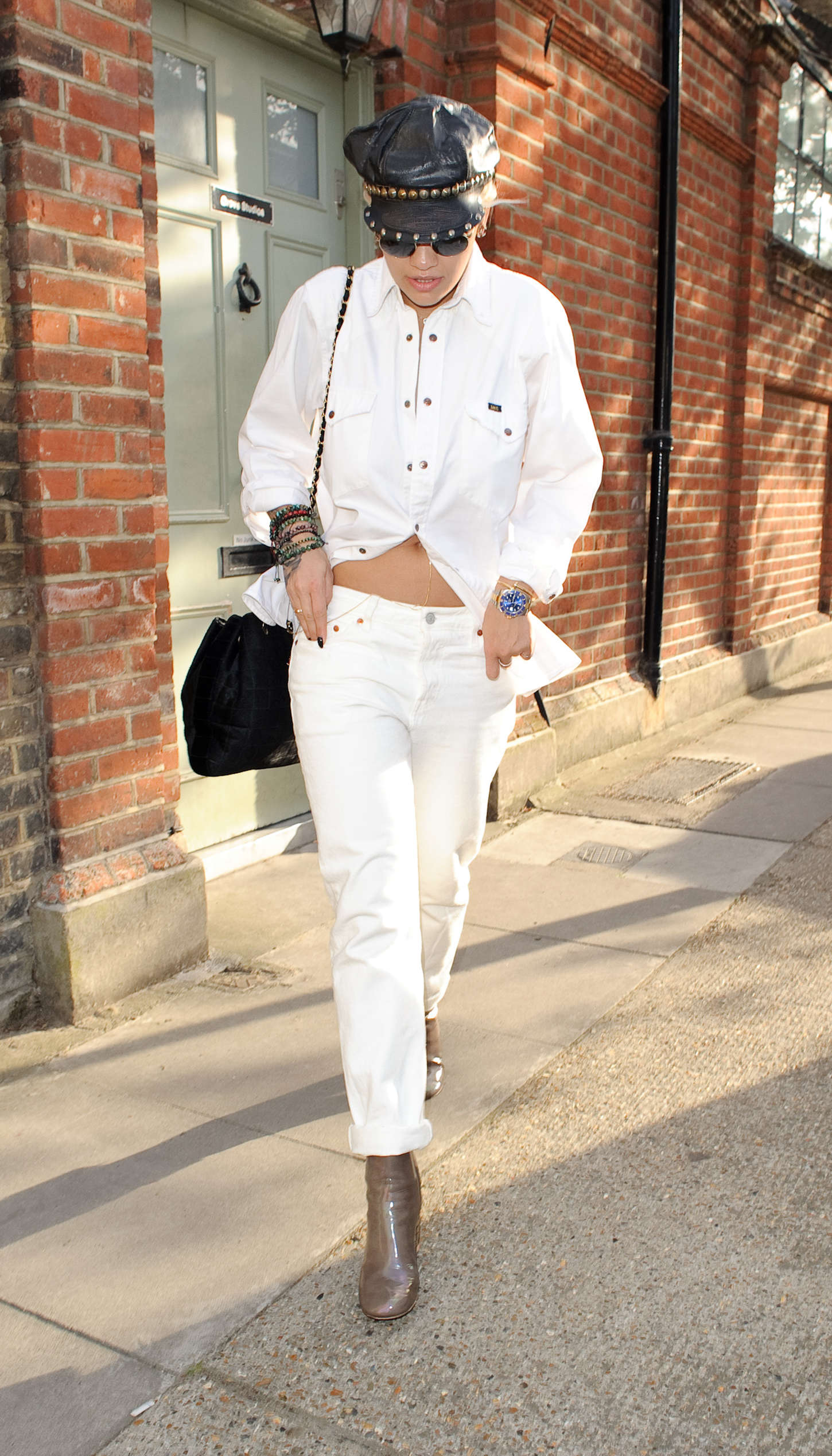 Rita Ora 2015 : Rita Ora: Leaving a Recording Studio -06